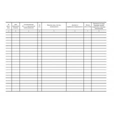 Журнал СМК 04-45 регистрации протоколов заседаний комиссии по аттестации